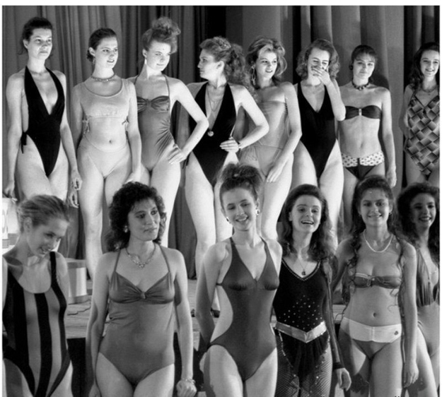The First Moscow Beauty Contest in USSR, 1988 (1)