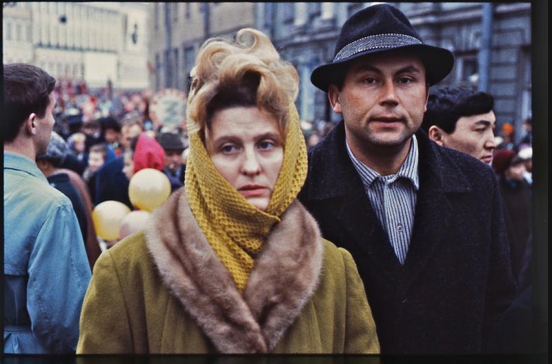 Артур Тресс в Ленинграде 1967 года.
