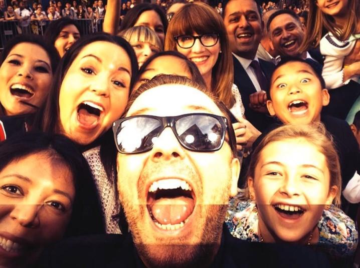 .Ricky Gervais
