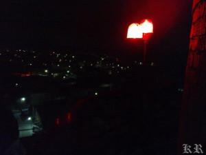 ночь,зима