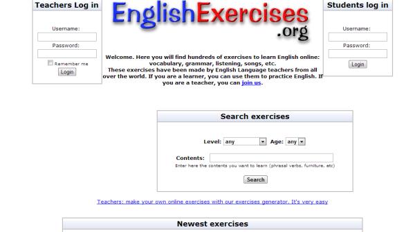 Английский сайт