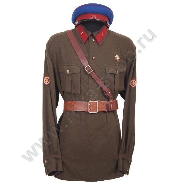 Pre-war NKVD uniform (redesign) Minecraft Skin