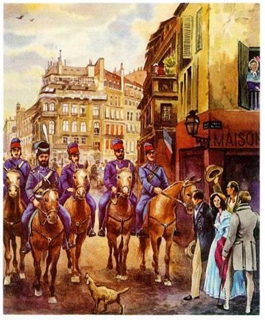 париж русские казаки