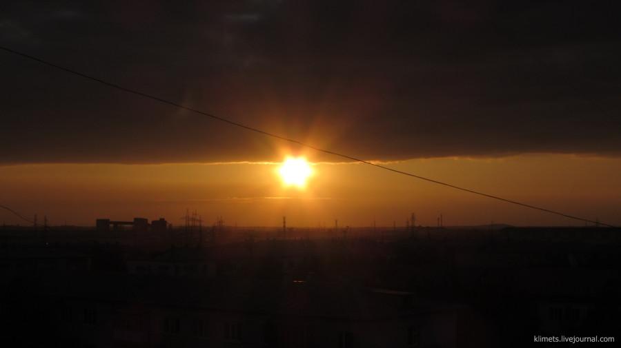 Нижневартовское небо