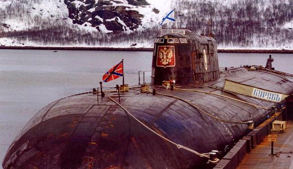 видео про подводную лодку курск