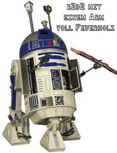 R2 mit Feuerholz