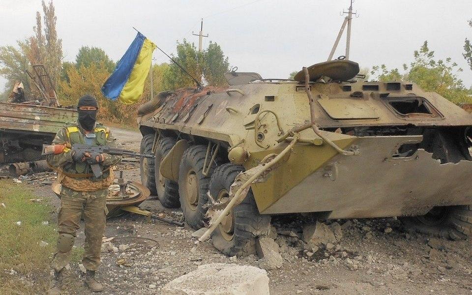 Поражения украинской армии