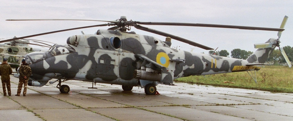 Mi-24 HIND VP Ukraine October 2004