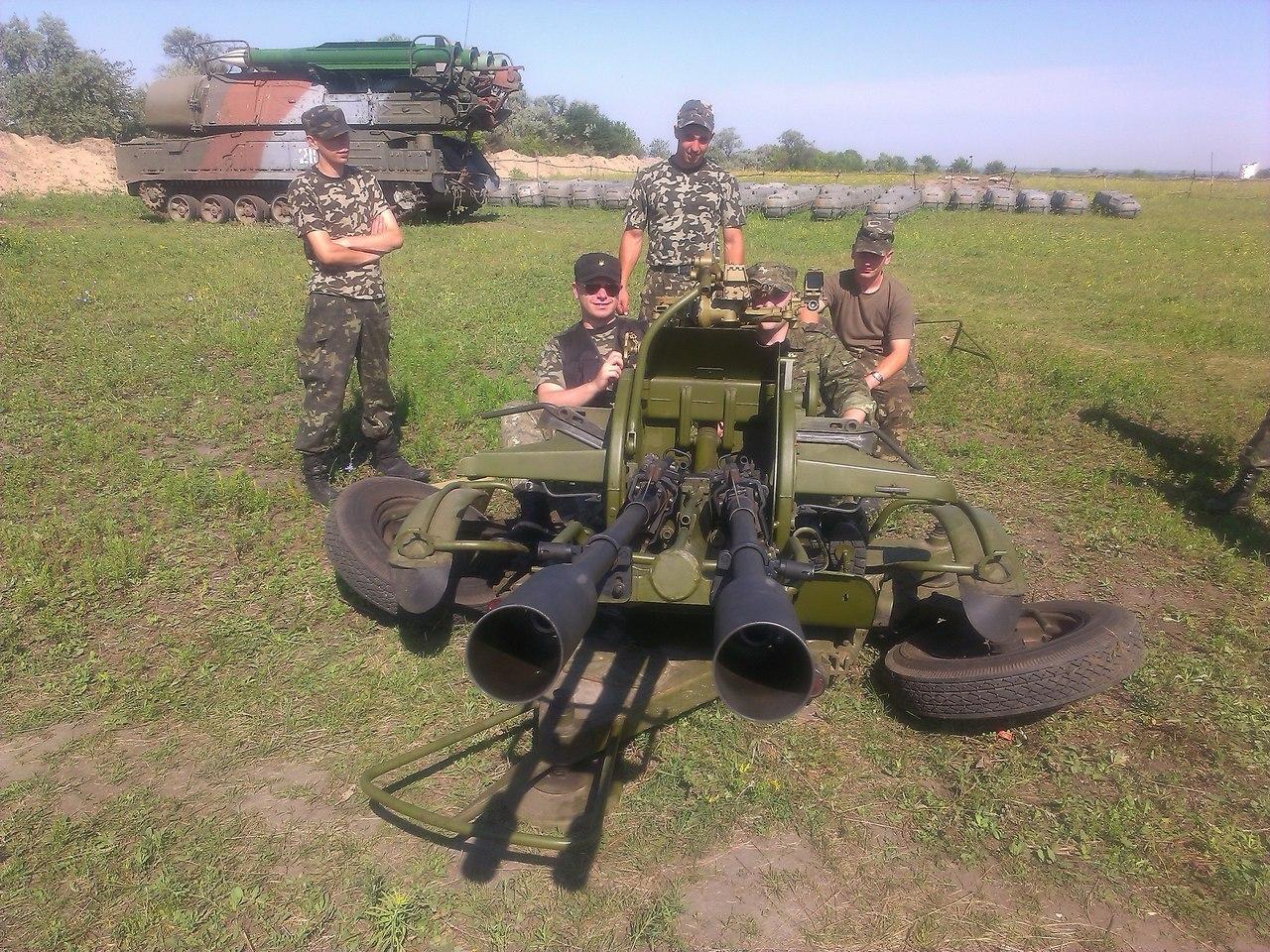 1 августа 2014 село Никитское Станично-Луганский район