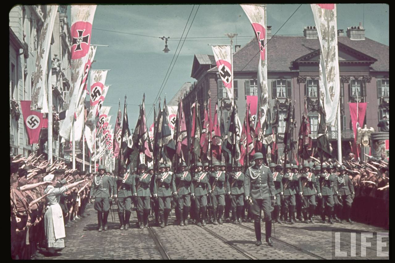 history nazi germany The nazi version of history was taught and children were taught nazi racial theories the nazis brought germany to ruins, its cities reduced to rubble, its industry mostly destroyed.