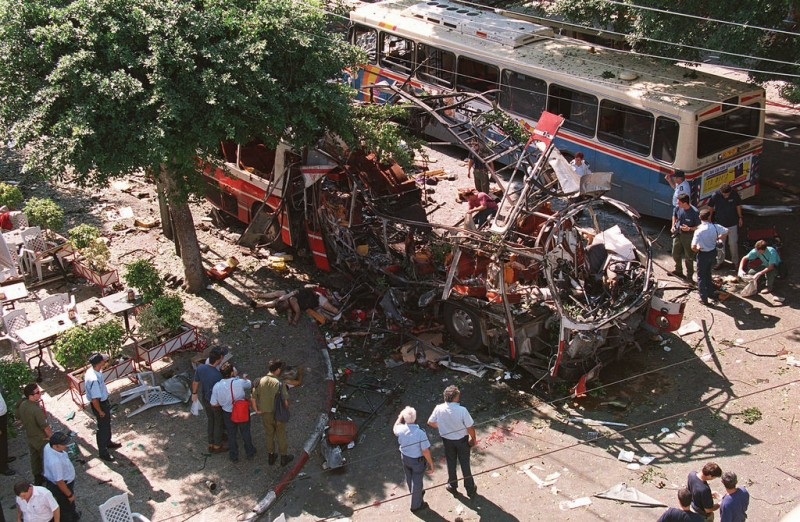 Hell in the center of Tel Aviv al-Suvi, Israel, Hamas, explosion, citizen who, bus, kibbutz, victims, person, place, personally, Dizengoff, street, moment, Rosen, thanks, bus, Israeli, terrorist attack