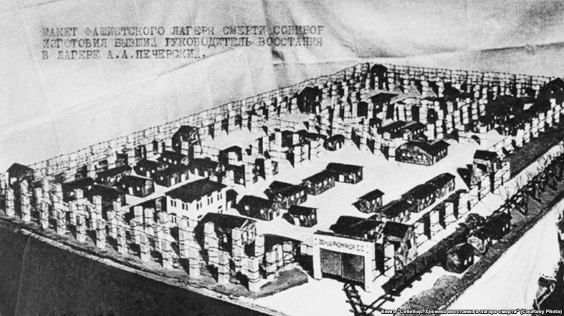 Восстание в Собибор после, человек, восстания, Собибор, узников, около, восстание, Печерский, евреев, лагере, лагерь, Александр, узниками, попыток, войны, нацистской, среди, концентрационных, удалось, часть