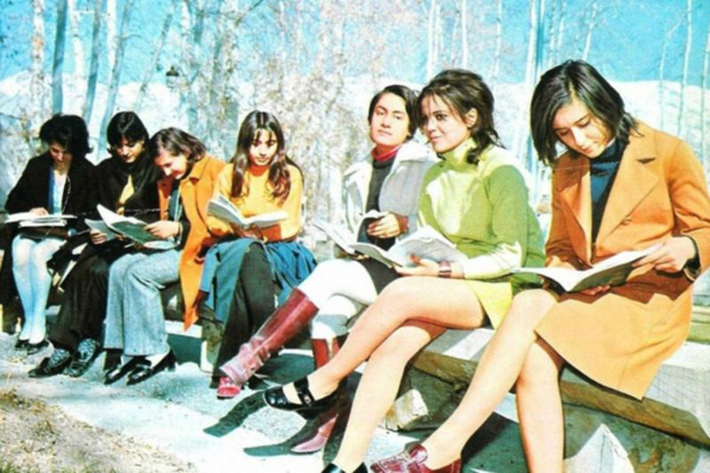 Как выглядел Иран до Исламской революции