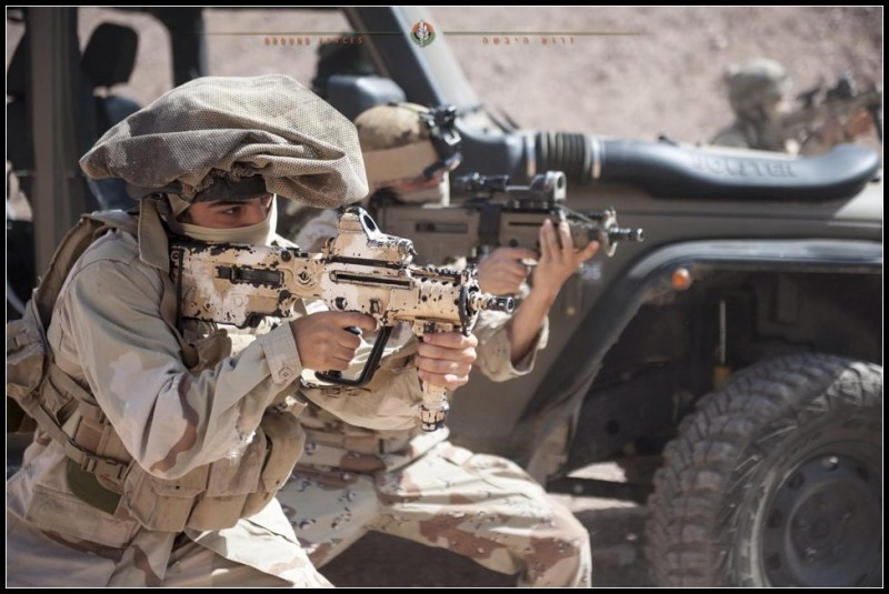 Пустынный спецназ  ЦАХАЛа