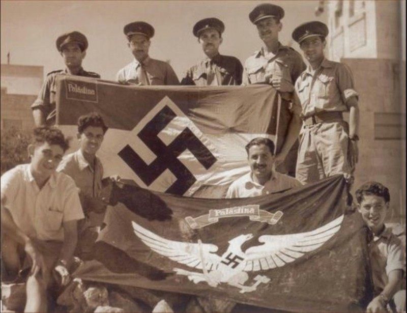 Нацизм в Палестине
