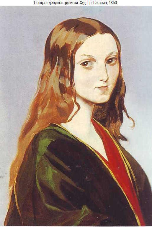 Девушка грузинка, Гагарин