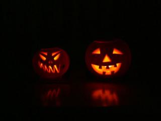 Kat & Dad Pumpkins