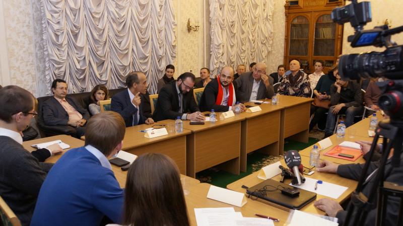 круглый стол Сути времени с представителями Сирии