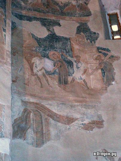 фреска в новгородском храме Феодора Стратилата