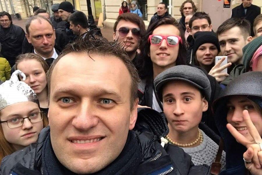 Навальный и дети