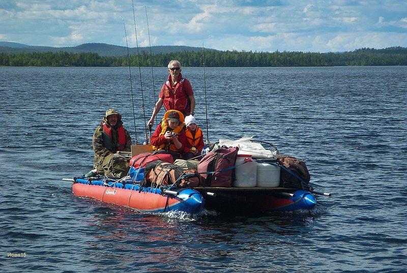 частный сектор для рыбалки в карелии