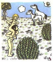рисунки жана эффеля адам и ева