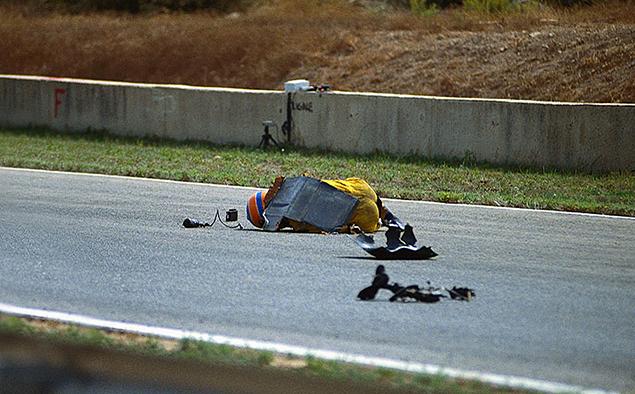 Самое страшное, что я сфот-вал – это авария Мартина Доннелли в Испании Хересе в 1990