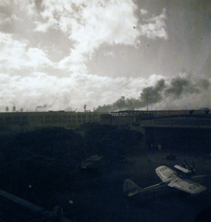 Japanese Navy Type 99 Carrier Bomber (Val) during the attack.21473920361_373255e420_o