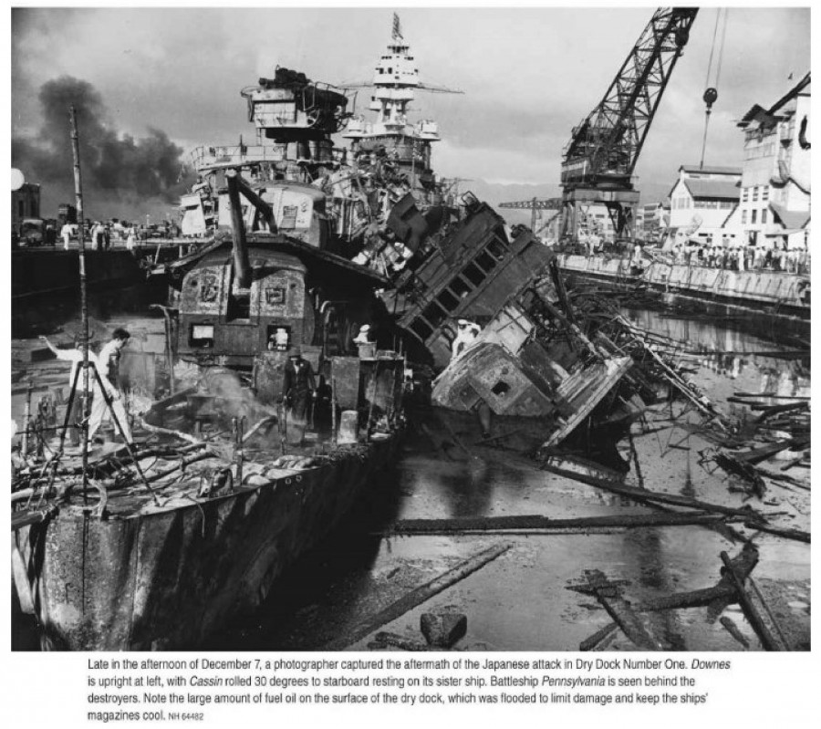 Pearl Harbor Air Raid_183.NH 64482