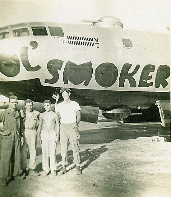 B-29,~Ol' Smoker~,#44-69857,Tail-Black-Square-K-59,[k4- Black-Square-K-64],[ole smoker ii][with g_crew],330BG,2020-01-28,00204