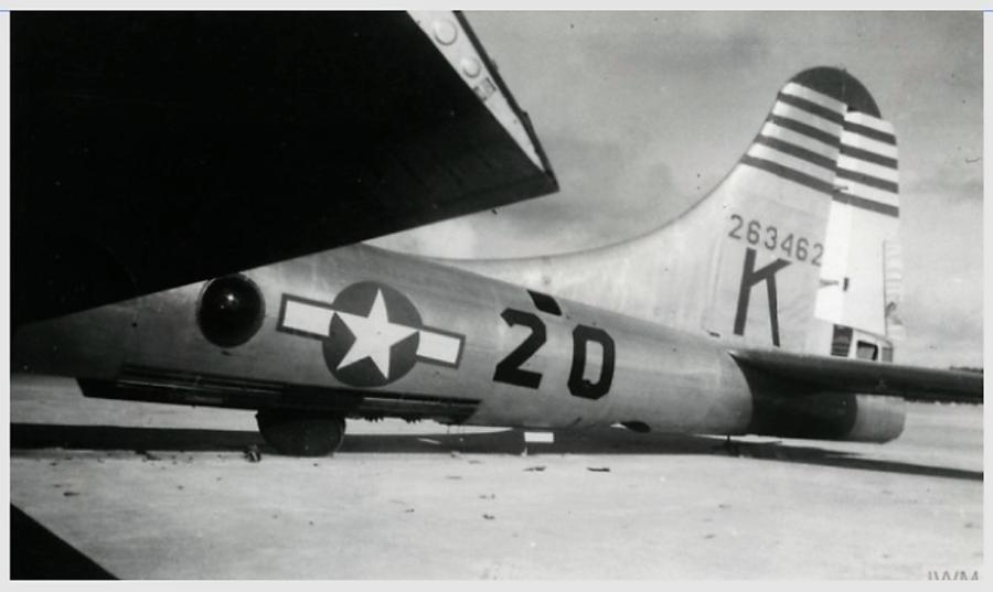 B-29,~The Lemon~,#42-63462,58BW,40BG,tail-Four-Stripes-Green-K,[mark-20],[253_],,2020-04-14,00173