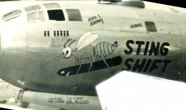 B-29,~Sting Shift~,#44-69742,[k4-may-be-or-44-61699],882BS,500BG,[Burwell Scrapbook 500BG-photo-110-k-mod],,2020-02-24,00089