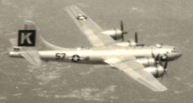 B-29,~City of Burbank~,#44-69766,Tail-Black-Square-K-57,[on bombing mission],330BG,2020-01-28,00182