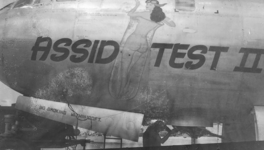B-29,~Assid Test II~,#42-65336,2019-12-06,00366