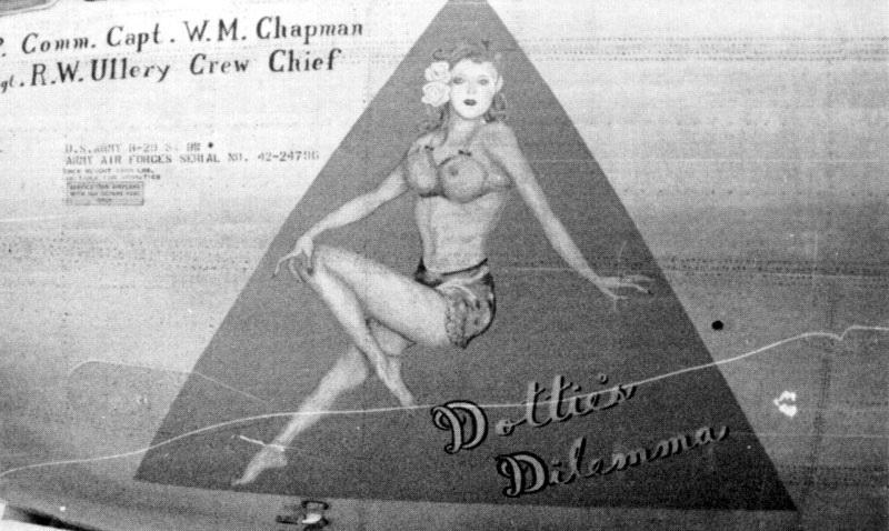 B-29,~Dottie's Dilemma~,#42-24796,2019-12-06,00802
