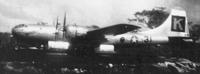 B-29,~Ida-Lou~,#42-93908,Tail-Black-Square-K-31,[in hardstand][_sm],330BG,2020-01-28,00103