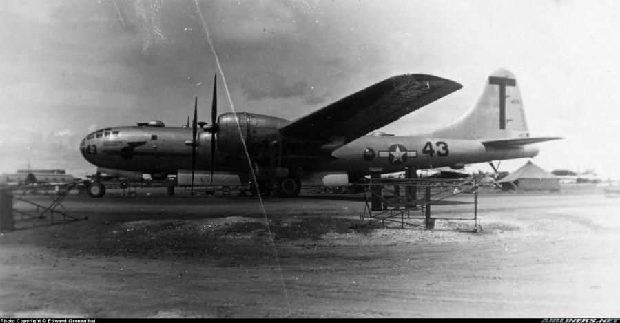 B-29,#42-24663,Tail-T-Square-43,73BW,498BG,2019-12-06,00055