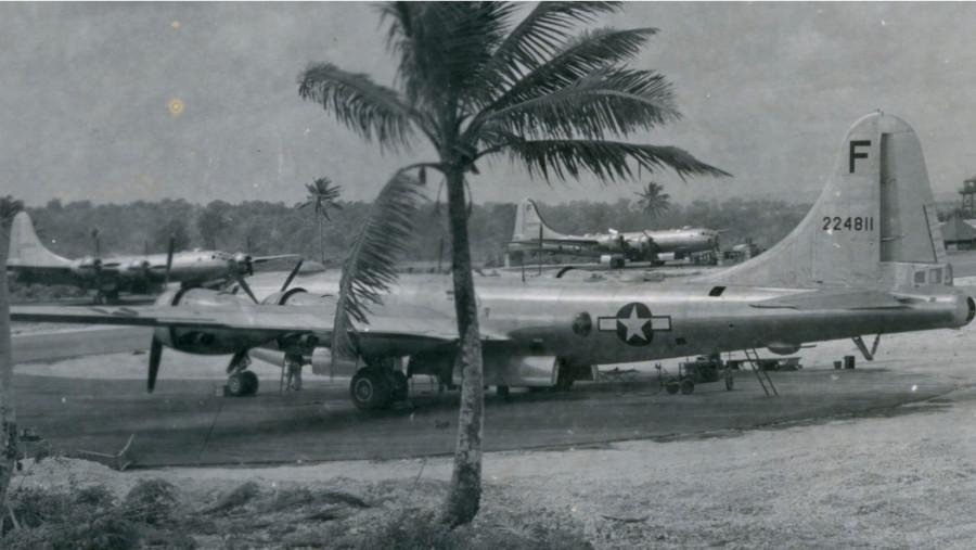B-29,#42-24811,[F-13],[parked at Saipan],,2020-05-07,00016