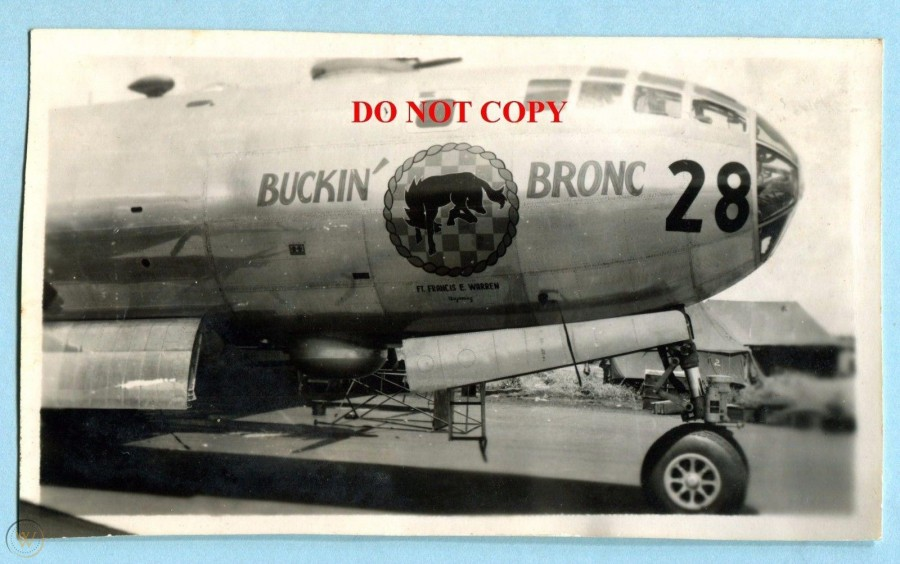 B-29,~Buckin' Bronc~,#44-70136,nose-28,2019-12-06,00519