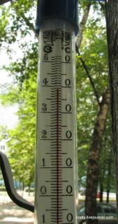 Харьков, сегодня 39 градусов в тени.