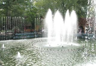 фонтан в саду Шевченко