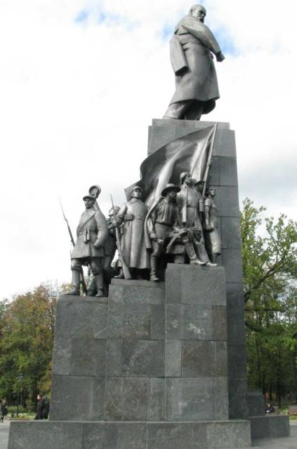Харьков, памятник Тарасу Шевченко
