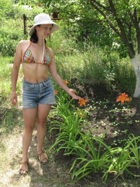Лисс и лилии