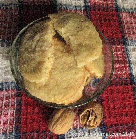 Мягкое имбирное домашнее печенье