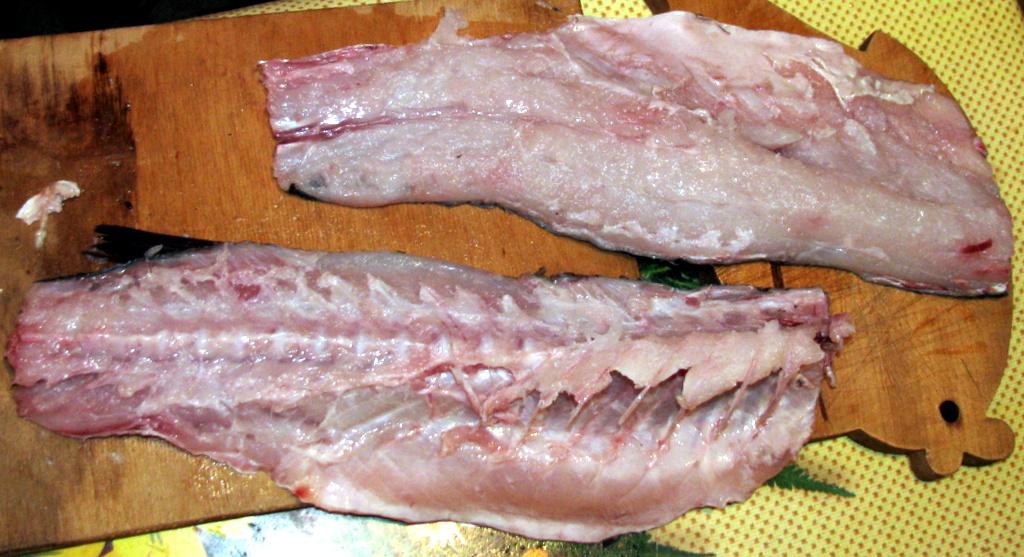 Разделка рыбы. Пеленгас. Филе.