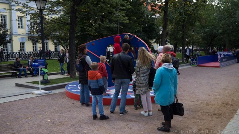 Космические парковщики на улицах Москвы