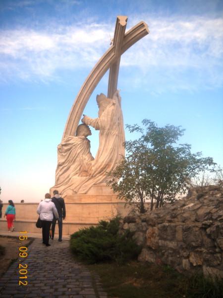 Статуя в Эстергоме