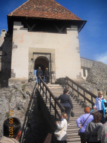 Вход в крепость в Вишеграде