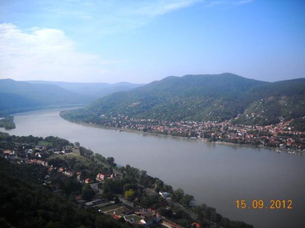 Дунай в Вишеграде2