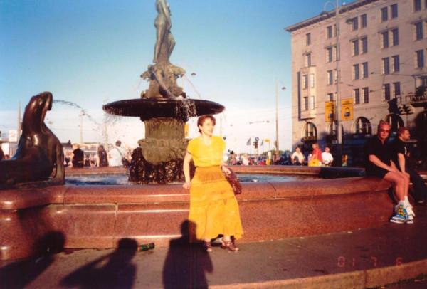 Я у фонтана Хавис Амада